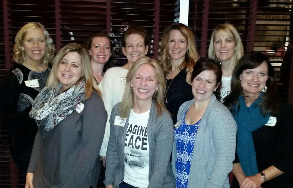Client Appreciation in Bloomington Minnesota, women smiling